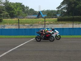 Tim Suzuki Indonesia Latihan Ubah Racing Line