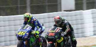 Rossi Memuji Penampilan Para Rider Yamaha Monster Tech 3
