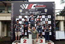 Rider SMI Depok dan Jogja Raih Podium di Kejurnas Supermoto