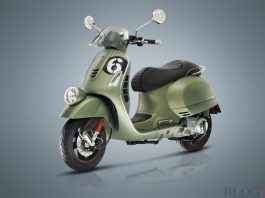 New Vespa Six Days