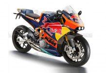 rendering KTM RC300 2-Tak