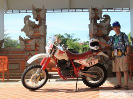 Yamaha TT600 1987 di AXCR