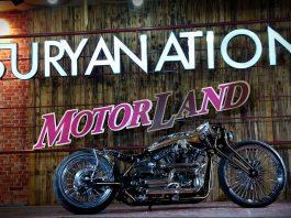 motor custom terbaik di Suryanation Motorland 2017 semarang
