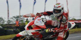 dua pembalap Honda Daya sabet podium 1