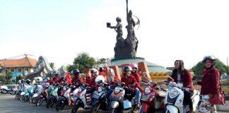 City Touring & Beauty Class Yamaha Fino Sambangi Kota R A Kartini