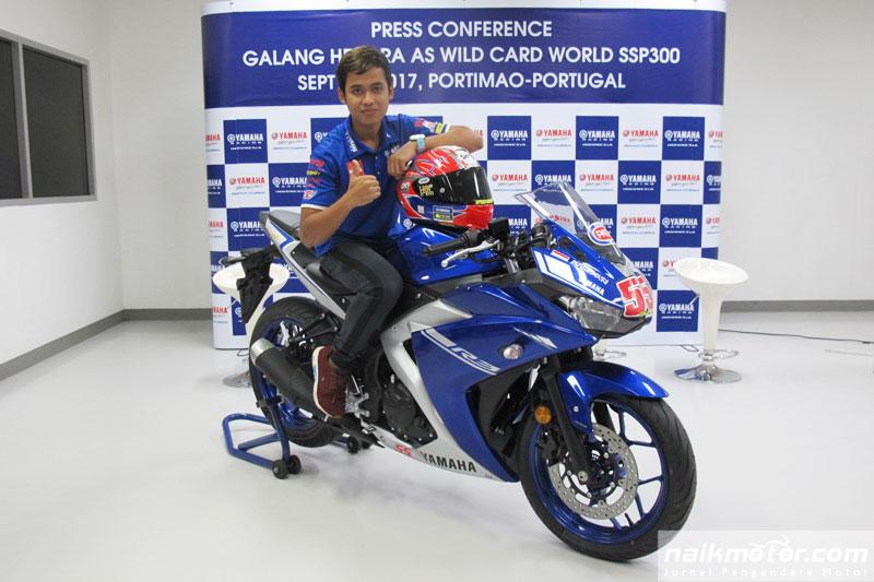 Yamaha pilih Galang