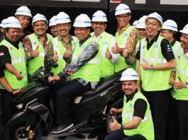 Gesits Bersiap Masuk Jalur Produksi