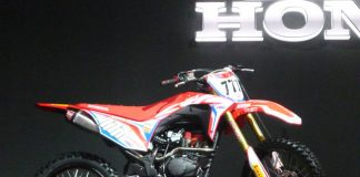 Sosok Honda CRF 150