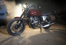 Moto Guzzi Custom Iconic Bike Kedua