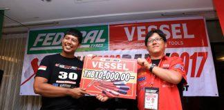 Kemenangan Kadex Ramayadi di leg 5 AXCR