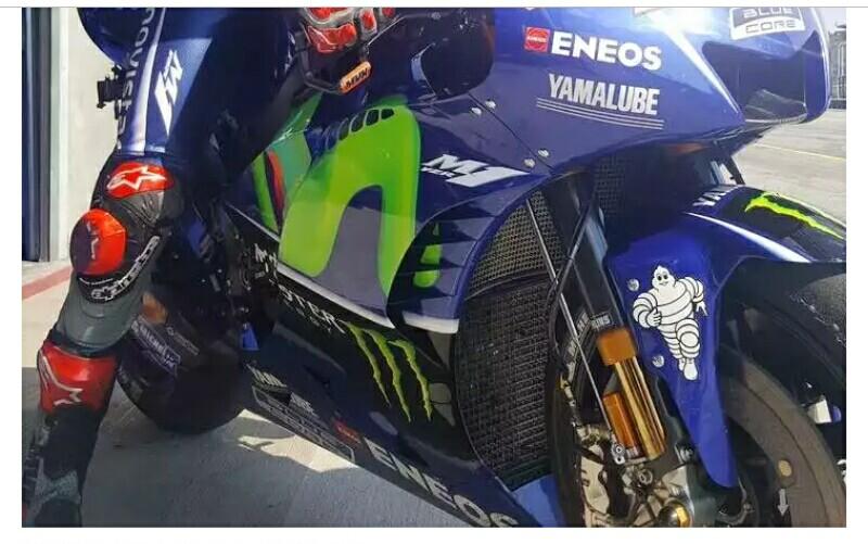 Fork Ohlins Karbon Bikin Manuver Yamaha Digdaya di Tes Brno, Ini Kata Rossi