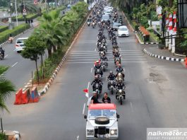 Parade Kemerdekaan Royal Riders Indonesia