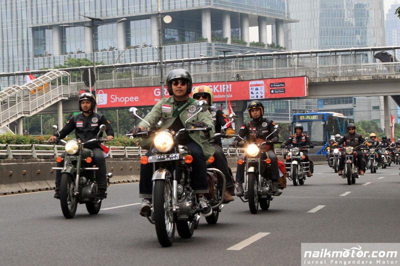 Anggota Royal Riders Indonesia