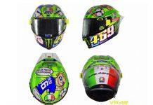 Rossi Berikan Helm MotoGP 2017 Mugello