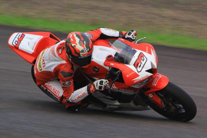 Dimas Ekky Sabet Podium 1 Race