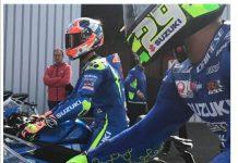 Iannone dan Rins Menjajal Suzuki GSX-R125 di MotoGP 2017 Silverstone