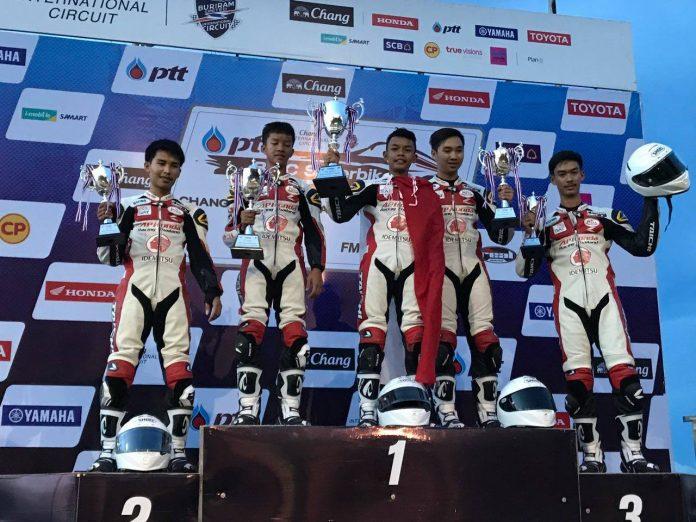 Honda Thailand Talent Cup Race 1,