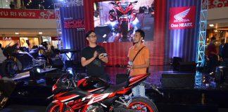 Honda CBR150R Modifikasi