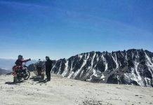 Rider Elevation Challenge Khardung La Diserang Cuaca
