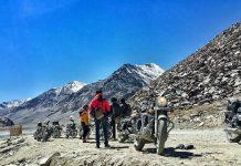 peserta elevation challenge khardung la