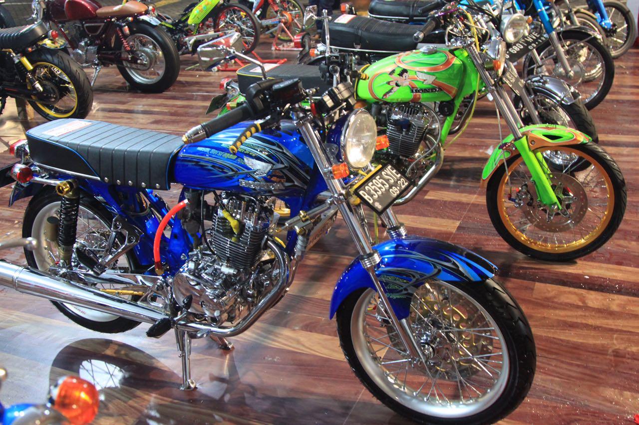 galeri foto Honda Modif Contest 2017 Jakarta
