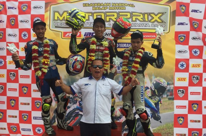 Ban IRC Fasti 2 Borong Podium Kejurnas Motorprix Wonosari