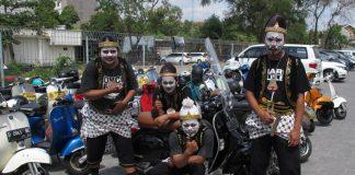 Punakawan Tampil Semarakan Indonesia Scooter Festival 2017