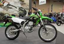 Kawasaki KLX250S Muncul Kembali