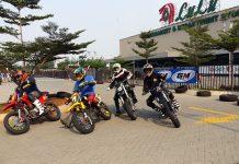 Promotor FIM Asia Supermoto dan Kracker gelar latihan bersama