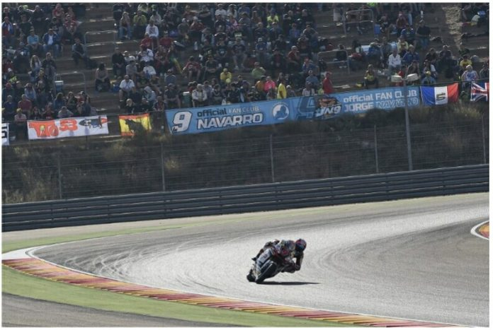 Navarro Meraih Posisi ke-6 Moto2 2017 Aragon