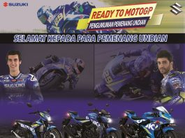 Suzuki umumkan 70 pemenang