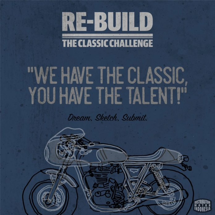 Syarat Ikut Lomba Desain Motor Custom Royal Enfield di RE-Build