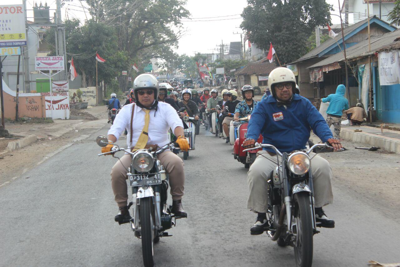 Tampil Gaya dan Tetap Menjaga Resiknya Kota di DGR Tasikmalaya