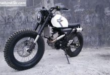 Modifikasi Suzuki GSX-S150 Scrambler Display NaikMotor.com