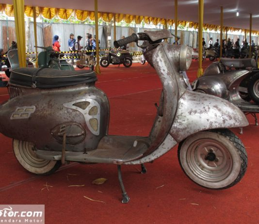 Triumph Tigress 1958, Scooter Tercepat Masa Lalu Tampil di Jogja