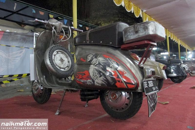 Vyatka VP-150 Scooter Gambot Asal Rusia