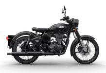 Royal Enfield Classic Gunmetal Grey dan Stealth Black