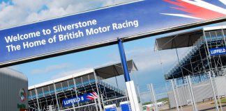 Sirkuit Silverstone di MotoGP 2018.