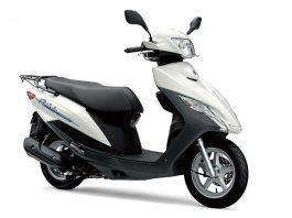Suzuki Address 125 Tampil dengan Mesin Baru dan 3 Warna