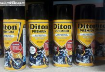 Diton Premium, Cat Semprot Instan Khusus Sepeda Motor
