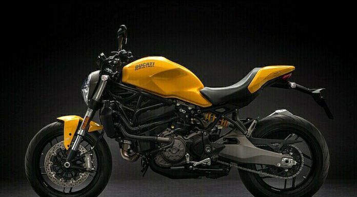 Ducati Monster 821 Baru