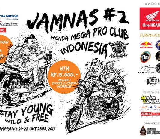 JAMNAS #2 Honda Mega Pro Club Akan Berlangsung 21-22 Oktober