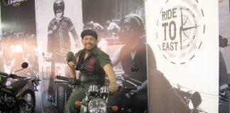 Dede Edun Road Captain Ride to East