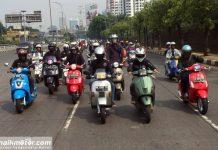 Pembukaan Jakarta Custom Culture 2017 Diawali Riding Tebus Dosa Emisi