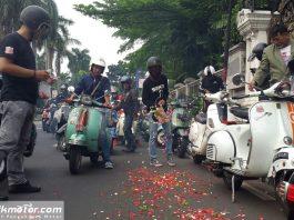 Somplak Ride Bukti Solidaritas Anak Vespa yang Tak Pernah Pupus