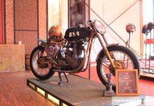 BSA B31 350cc 1956 Old School Racer Jawara Drag Race