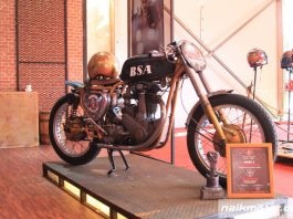 BSA B31 350cc 1956 Old School Racer Jawara Drag Race