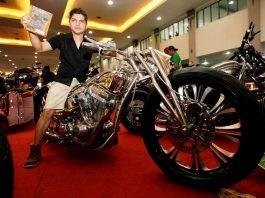 Motor terbaik Kustom Bike Show Kustomfest 2017