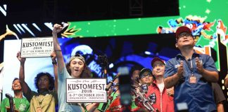 lucky draw Kustomfest 2017