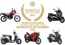 lima motor terbaik finalis Forwot motorcycle of the year 2017